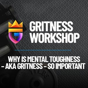 cover picture gritness workshop on mental toughness