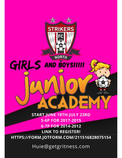 grintess junior academy flyer